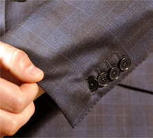 Open Buttonholes - Exquisuits online suits